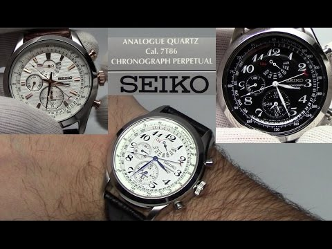 Seiko Neo Classic Perpetual Calendar - Classic Elegance with Functionality