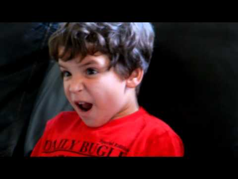 Son's reaction to 'Empire Strikes Back' reveal!!!!