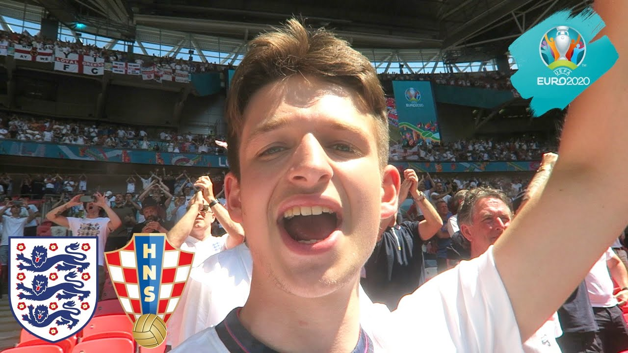 THE MOMENT ENGLAND GET REVENGE on CROATIA at EURO 2020