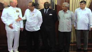 http://rtvm.gov.ph - Courtesy Call of Admiral Willard