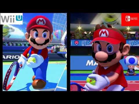 f61ec9c7eb Mario Tennis Aces (Switch) y Mario Tennis: Ultra Smash (Wii U) -  Comparativa gráfica