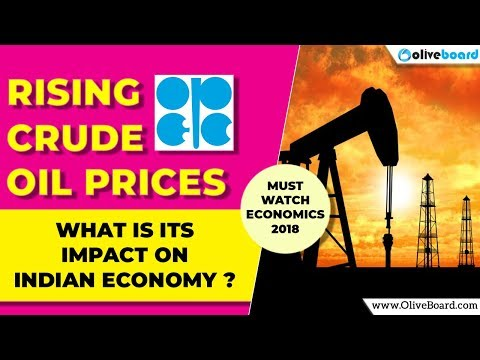 How Rising Crude Oil prices impact Indian Economy | Must Know Economics Topic 2018