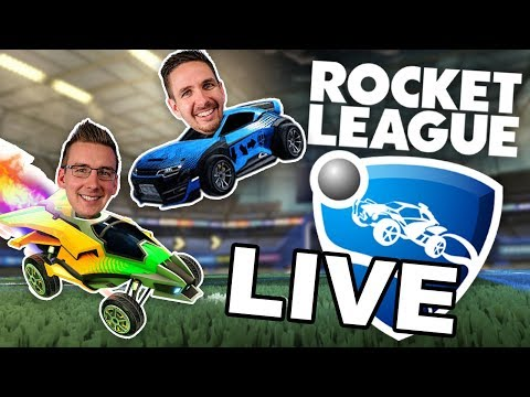 LIVE: Q&A w/ Ben, J and DK - Rocket League!