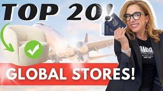Top 20 US & Global STORES Revealed!
