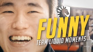 TEAM LIQUID FUNNY MOMENTS (Doublelift, Pobelter, Olleh, Xmithie)