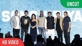 The Rebels Of Sonchiriya Trailer Launch | UNCUT | Sushant, Bhumi, Manoj, Ranvir