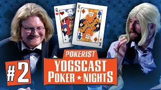 Yogscast Poker Nights 2018 #2 - Luck and Kryptonite
