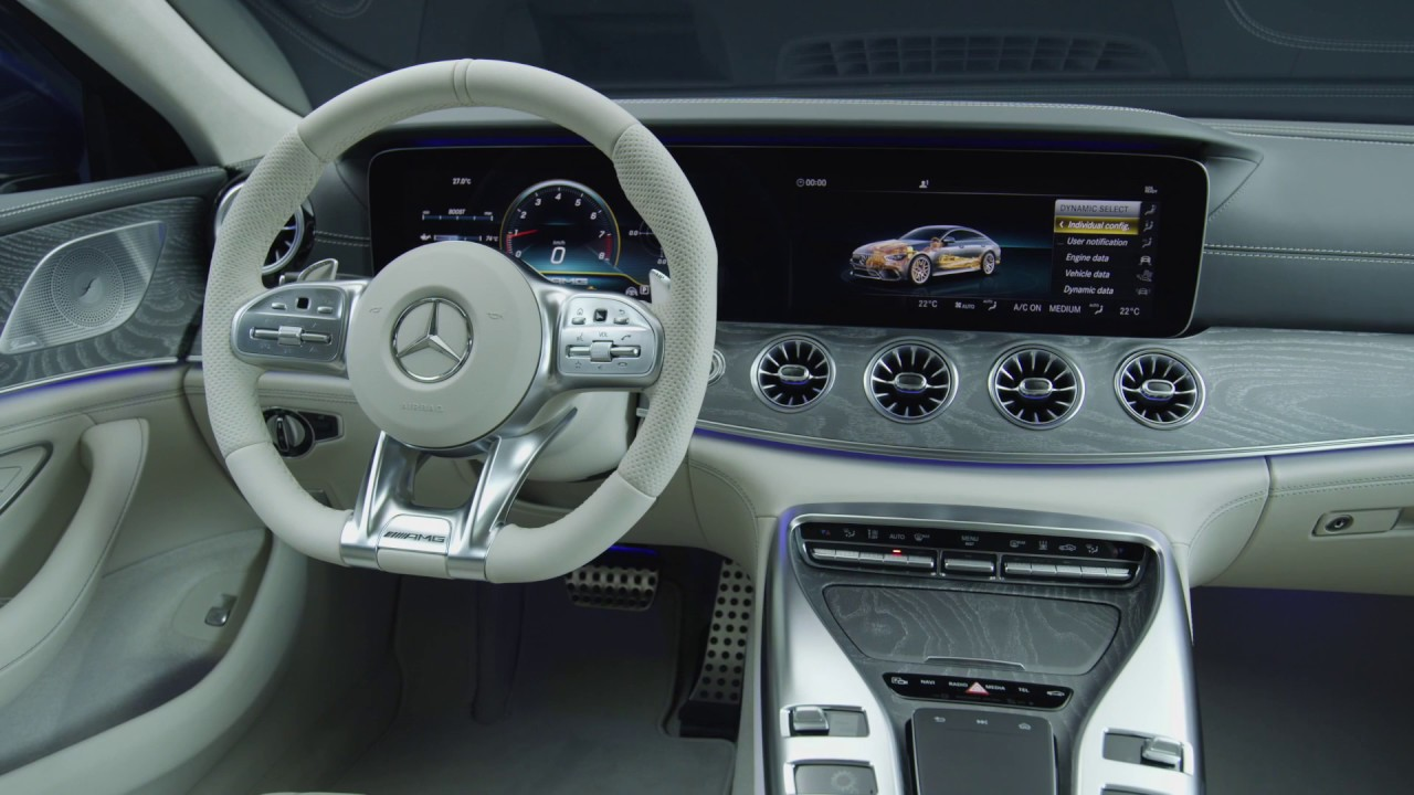 2019 Mercedes AMG GT 63 S Interior Design At The Studio