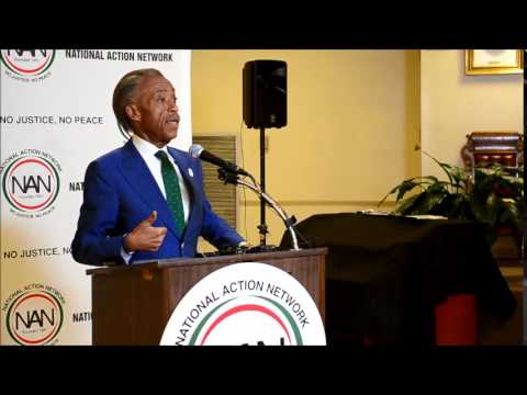 Al Sharpton at 16th Street Baptist Church July 30