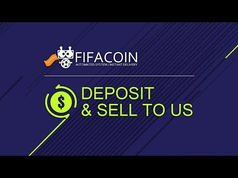 Fifa Coins Deposit & Sell Fifa Coins To Us Tutorial on FifaCoin.com