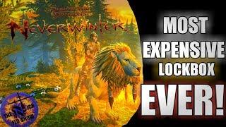 Opening The Most Expensive LOCKBOX in Neverwinter!! Firemane Lockbox Opening!