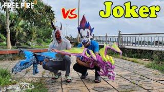 Chế Tạo Mặt Nạ Chú Hề Ma Quái Joker Ngoài Đời Thật   Free Fire
