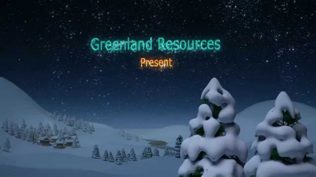 Christmas In Greenland.Greenland Resources Xmas