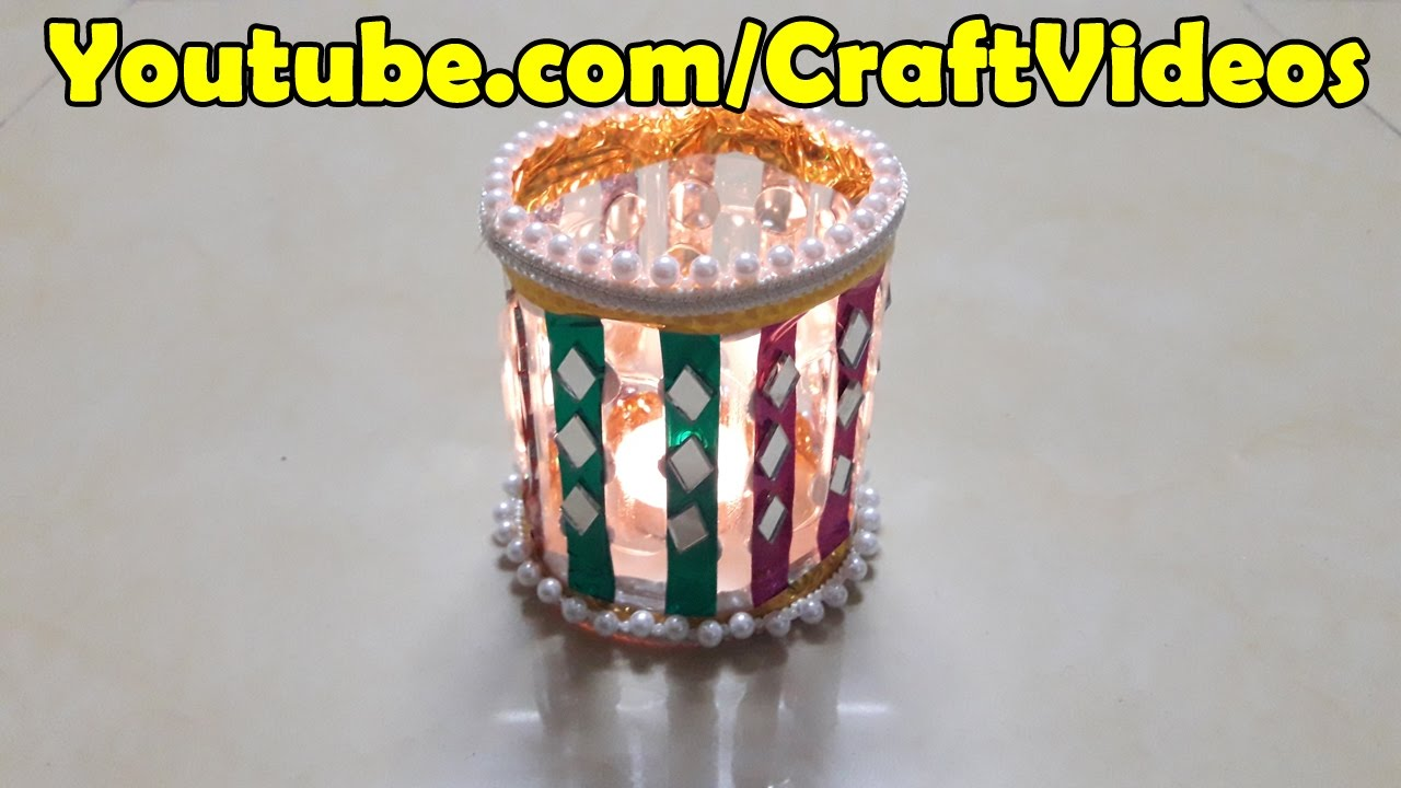 Diwali Decoration Ideas -Diwali Lantern with Plastic Bottle ...