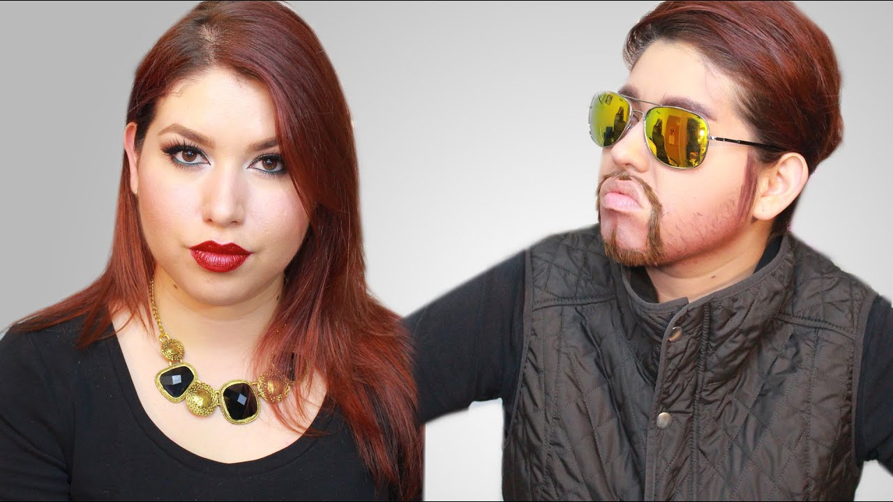 Mujer A Hombre Female To Male Makeup Tutorial Makillarte
