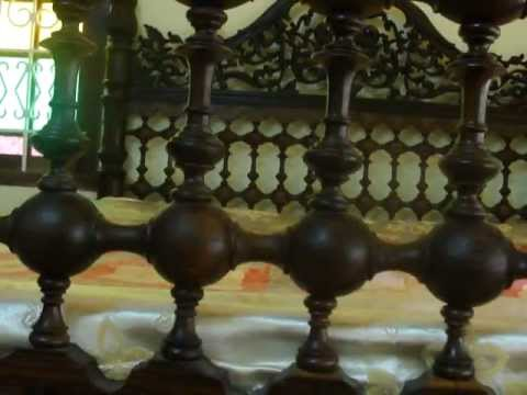 Antique Rose wood Cots In India Kerala Antique Market Jew town