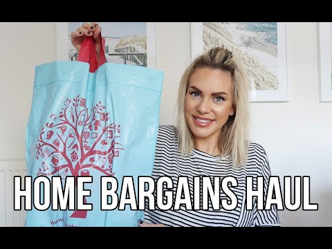 HOME BARGAINS HAUL | A BEAUTIFUL MIRROR FOR £3.99! CLEANING PRODUCTS AND DIY BUYS