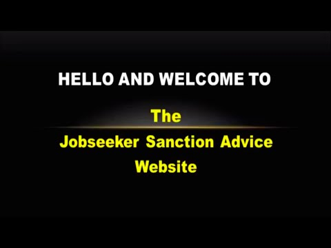 The Job Seeker Sanction Advice Service  - JSSA