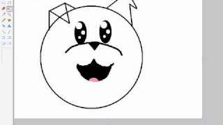 dibujo de un perro de dibujos animados