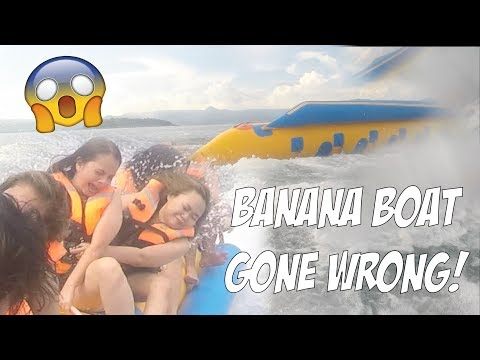 BANANA BOAT GONE WRONG! DUMAGUETE WITH MY SQUAD DAY 2! (VLOG #74)