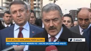 İzmir Adliyesi Yakınlarında Terör Saldırısı