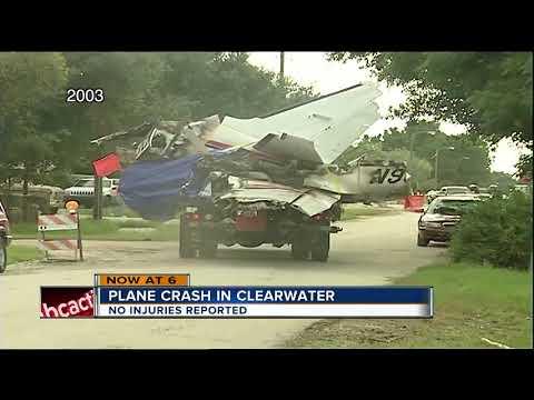 Plane crash in Pinellas County