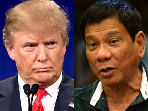 Trump Praises Dangerous Psychopathic President Of The Philippines