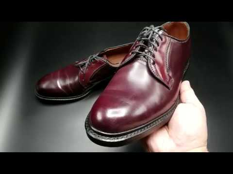 size 40 0e0c9 eec07 Allen Edmonds Leeds Shell Cordovan Shoes (Factory Seconds)