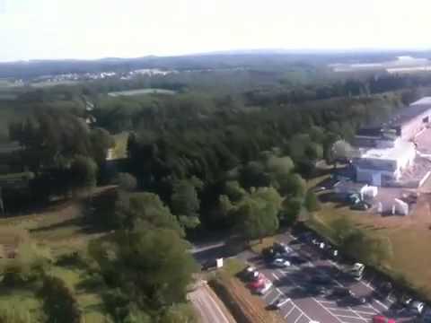 J 52 Überflug über der Verkehrslandeplatz Arnsberg-Menden