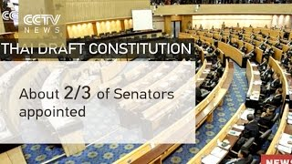 Thai Constitution: A closer look at controversial provisions