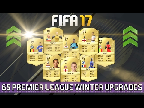 FIFA 17 | 60 Confirmed Premier League Winter Upgrades | OUT NOW!!! (Rating Refresh)