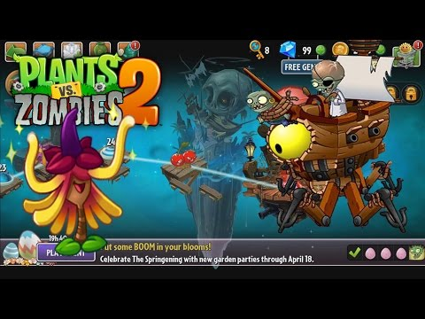 Plants vs Zombies 2 Witch Hazel and Pirate Seas Final Gameplay Walkthrough Part 11 (ios, android)