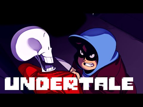 (Comicdub) Undertale - Papyrus in the Human World (Christmas Special)