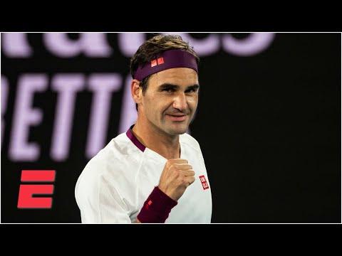 Roger Federer beats Marton Fucsovics to advance to quarterfinals | 2020 Australian Open Highlights