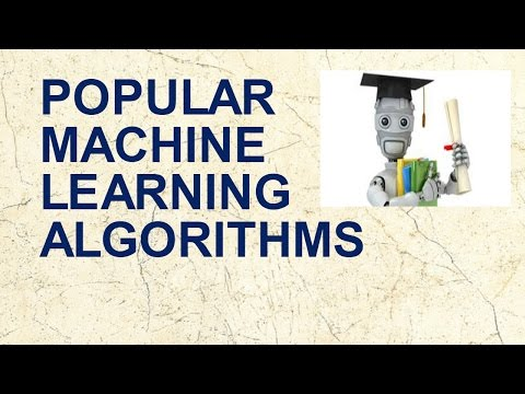 Popular Machine Learning Algorithms Used in Data Science