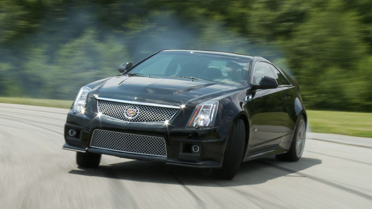 How Fast is the Cadillac CTS-V Coupe? | Consumer Reports - YouTube