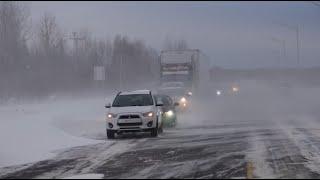 L'hiver n'a pas dit son dernier mot dans l'Est-du-Québec