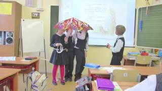 Инсценирование сказки   В. Сутеева на уроке обучения грамоте