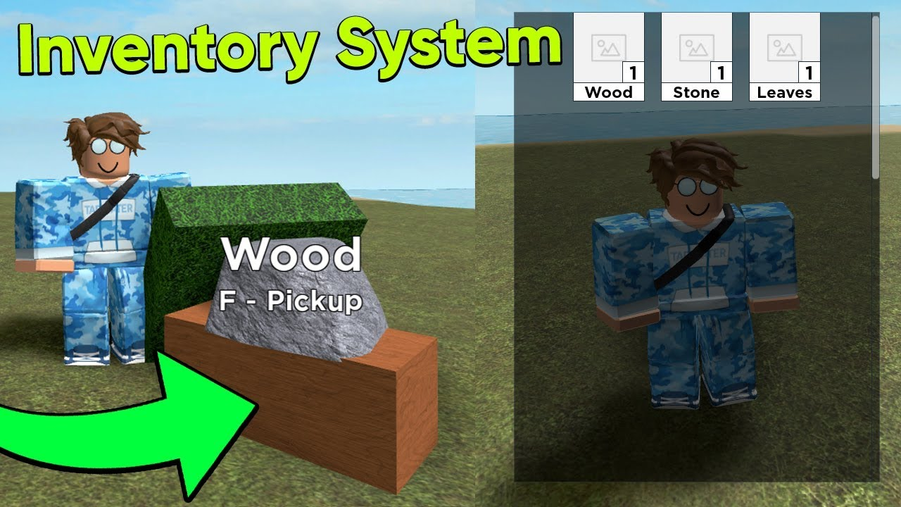 How To Make An Inventory System In Roblox Studio Youtube