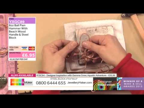 Learn How to Make Raw Copper Jewellery [Tutorial]: Jewellery Maker DI 13/12/14