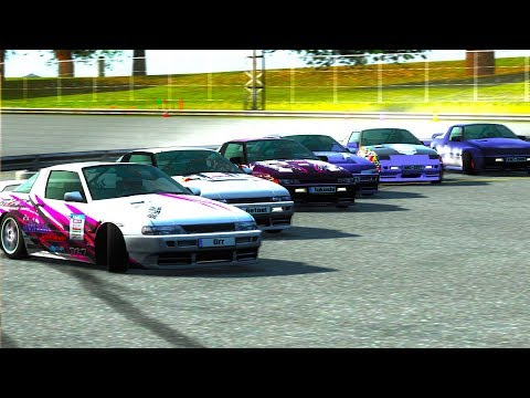 Live for Speed - Drift lado a lado com mais de 5 carros! (G27 mod)