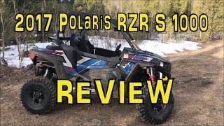 2017 Polaris RZR S 1000 EPS REVIEW and WALKAROUND