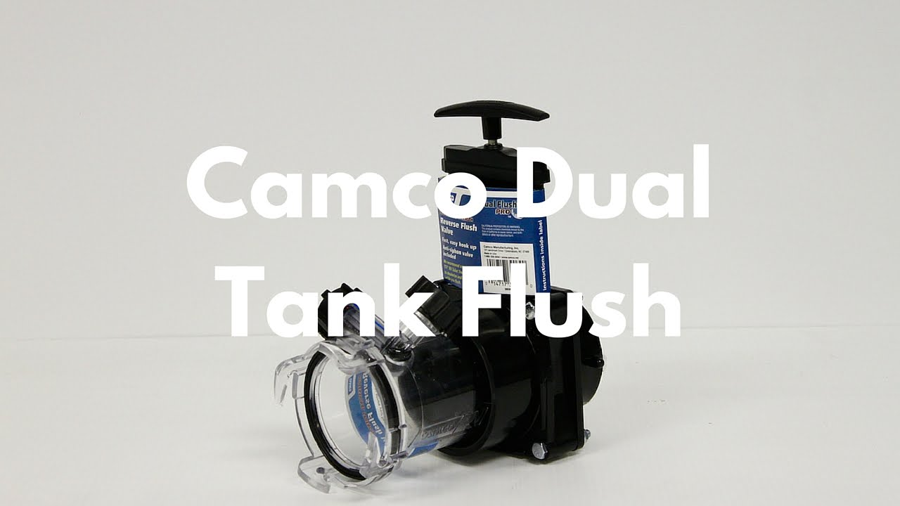 Introducing The Camco Dual Tank Flush Youtube