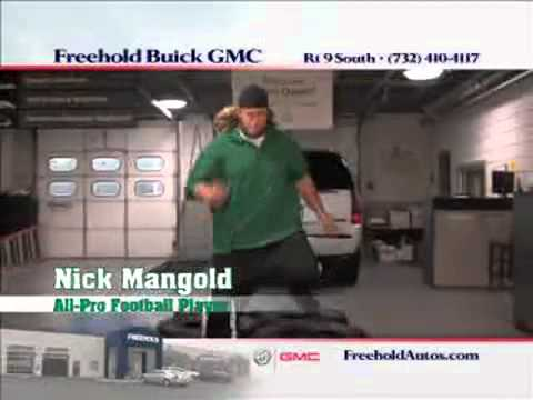 Nick Mangold commercial