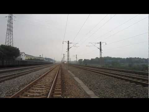 Exploring railway in China: heavy freight trains