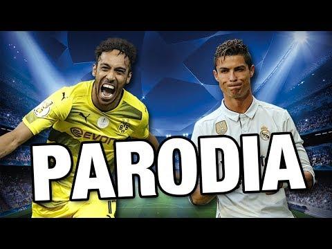 Canción Borussia Dortmund vs Real Madrid 1-3 (PARODIA Shakira - Perro Fiel) (RESUBIDO)