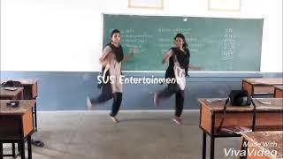 College girls performed mass dance....||Attantode ittantode songe