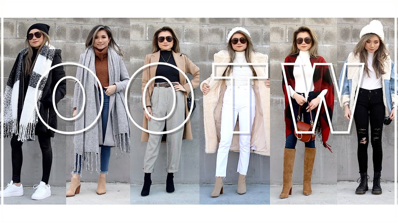 [VIDEO] - WINTER Outfits of the Week LOOKBOOK 2019 | winter outfit ideas | Miss Louie 9