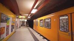 Germany, Berlin, U-Bahn ride from  Schloßstraße to Walther-Schreiber-Platz