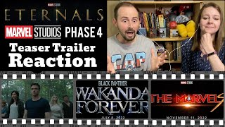 The Eternals | Marvel Phase 4 | Teaser Trailer REACTION